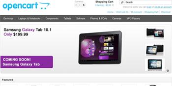 Opencart Demo Screenshot