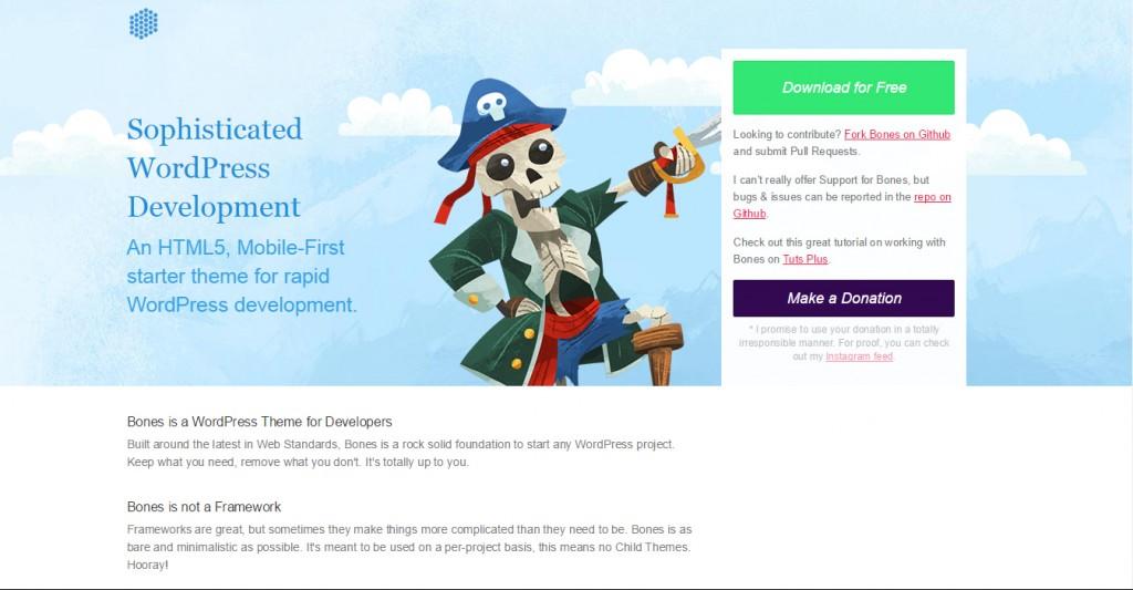 Bones WordPress Starter Theme