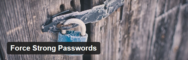 force strong passwords plugin