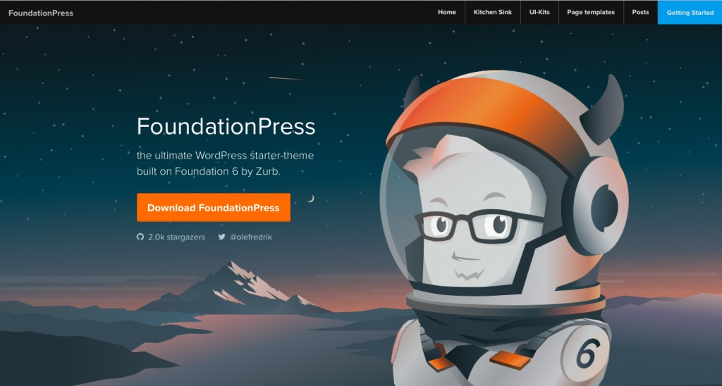 Foundation Press Starter Theme