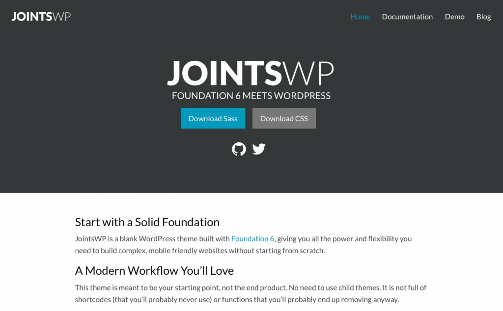 Joints WP WordPress Starter Theme