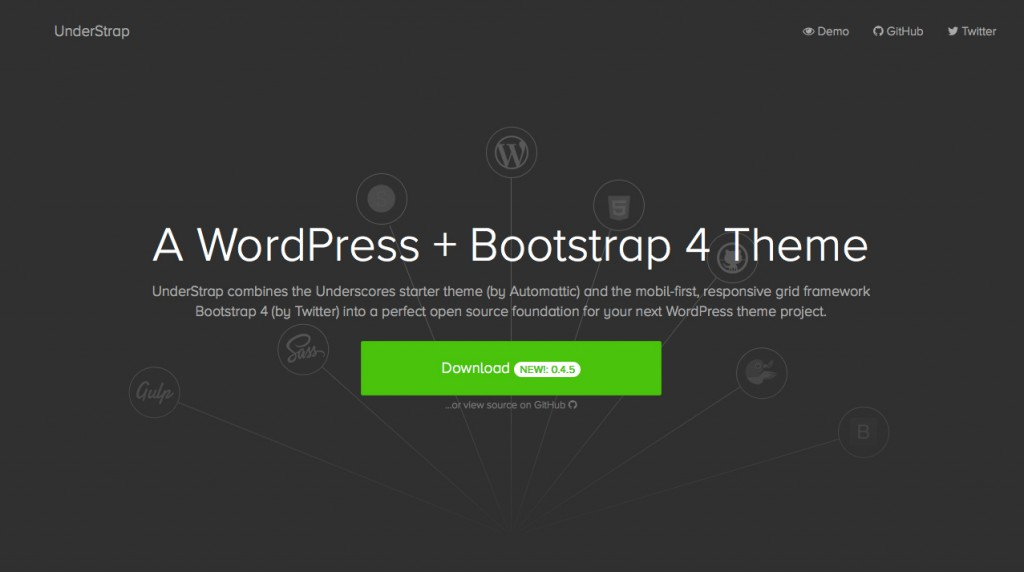 Understrap WordPress Starter Theme