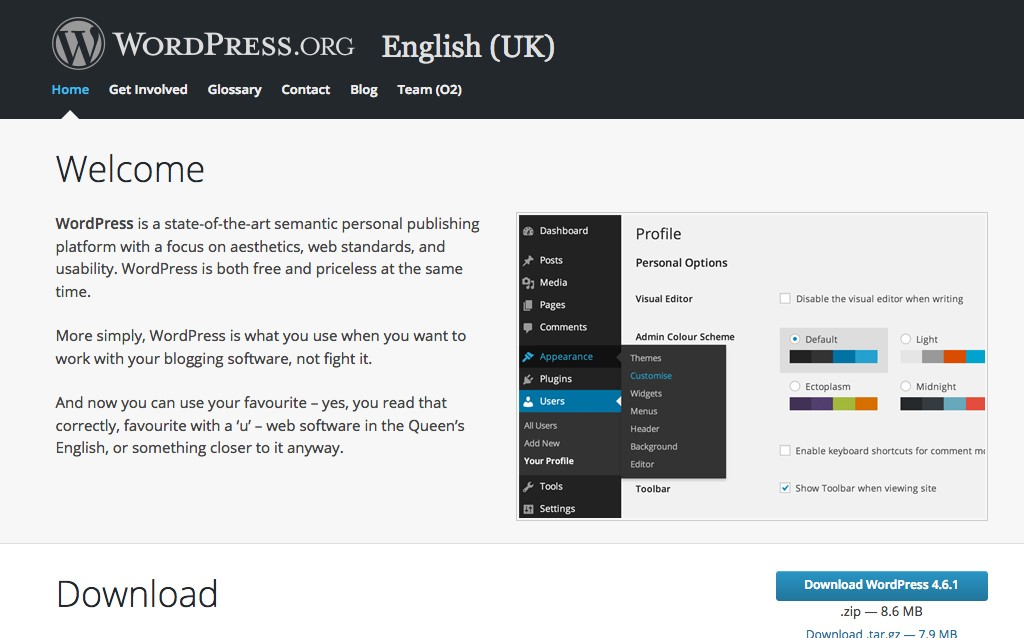 A Guide To WordPress.org